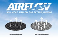 BERG flatground trampoline Elite, diam. 330 cm. -3