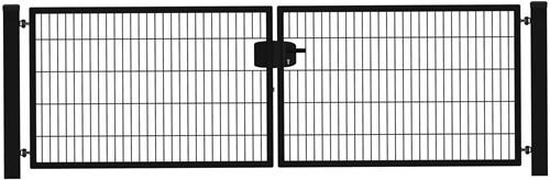 Hillfence metalen dubbele poort, Eco-line