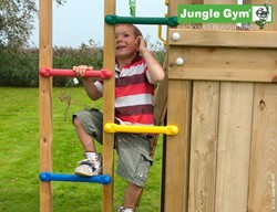 Houtpakket voor Jungle Gym 1 step module