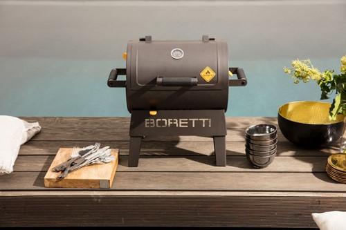 Terzo houtskoolbarbecue Boretti
