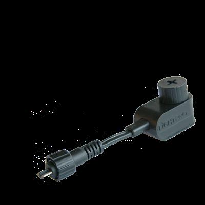Connector Type M (Male) voor Lightpro tuinverlichting