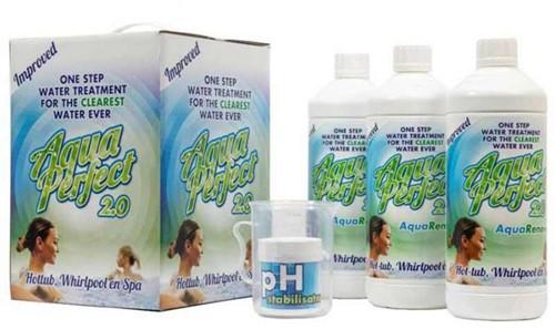 AquaPerfect chloorvrij onderhoudspakket voor spa, 3 x 1 liter