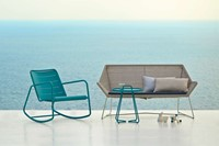 Cane-Line Copenhagen rocking chair - aqua-2