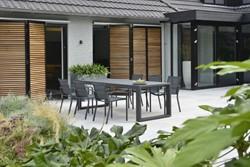 Borek Calpe tuinstoel, aluminium, stapelbaar