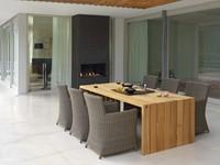 Borek Nova tuinstoel, aluminium frame