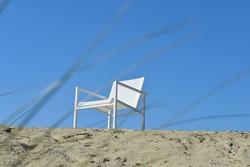 Max & Luuk Collin stapelbare lage fauteuil, aluminium