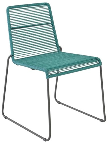 Borek Sineu stapelbare stoel - blue slate