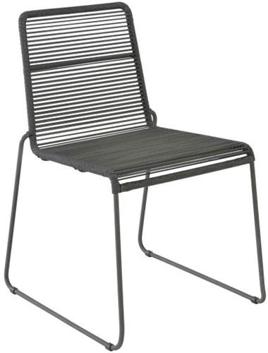 Borek Sineu stapelbare stoel - dark grey