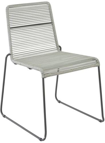 Borek Sineu stapelbare stoel - iron grey