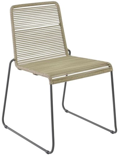 Borek Sineu stapelbare stoel - zand