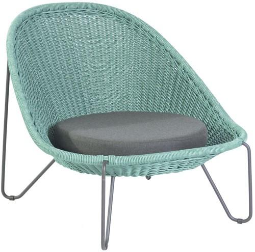 Borek Pasturo lounge stoel  - blue slate