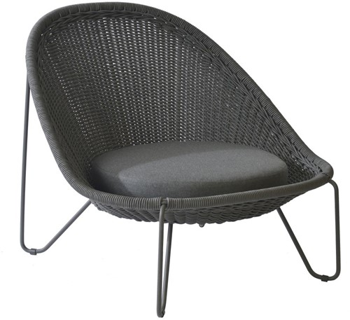 Borek Pasturo lounge stoel  - dark grey
