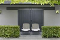 Borek Ferragudo tuinstoel, gepoedercoat stalen frame