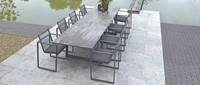 Borek diningtafel Faro dining tafel met Dekton tafelblad