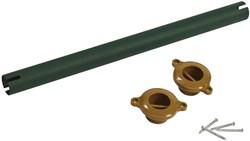 monkey bar, afm.  Ø 3,2, lengte 40 cm, groen