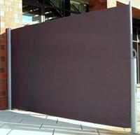 Windscherm op rolsysteem, afm. 300 x 180 cm, antraciet., op=op-1
