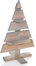 Houten kerstboom Pjotr, hoogte 80 cm, FSC grenen