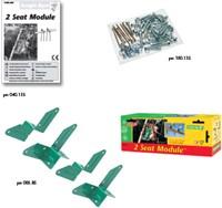 Jungle Gym montagekit voor 2 Seat Module (dubbel schommelzitje)-2