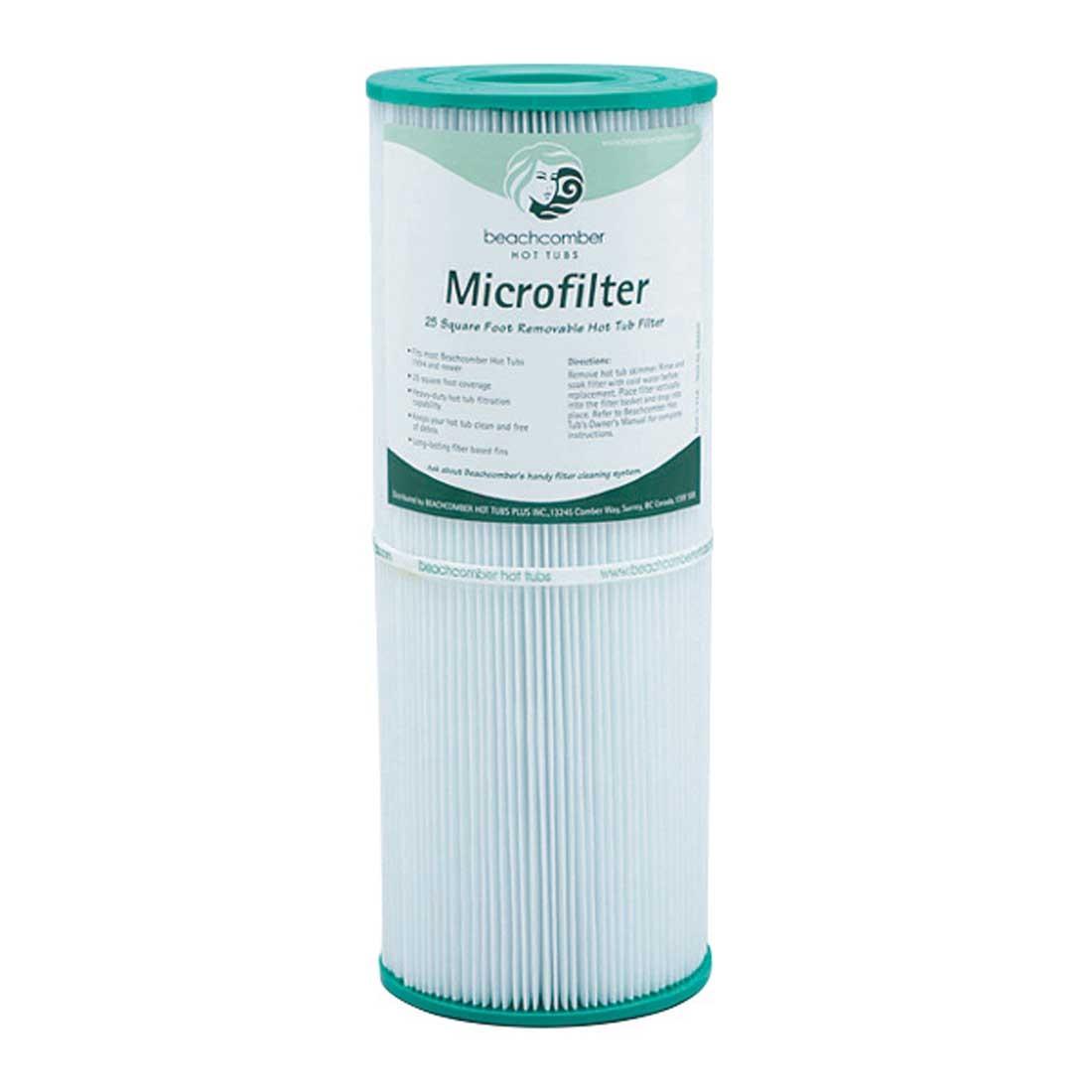 Beachcomber Hot Tubs Beachcomber spa filter voor Beachcomber Hot Tub, afm. 25SqFt