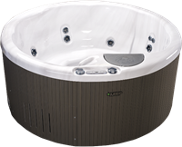 Beachcomber 320 portable Eco-Loc Hot Tub, afm. Ø198 x 86 cm-2