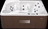 Beachcomber 340 portable Eco-Loc Hot Tub, afm. 178 x 218 x 86 cm