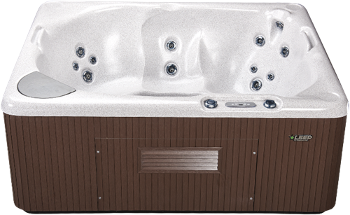 Beachcomber 340 portable Eco-Loc Hot Tub, afm. 178 x 218 x 86 cm-2