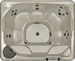 Beachcomber 340 portable Eco-Loc Hot Tub, afm. 178 x 218 x 86 cm