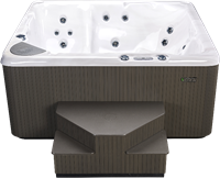 Beachcomber 350 portable Eco-Loc Hot Tub, afm. 224 x 203 x 97 cm-2