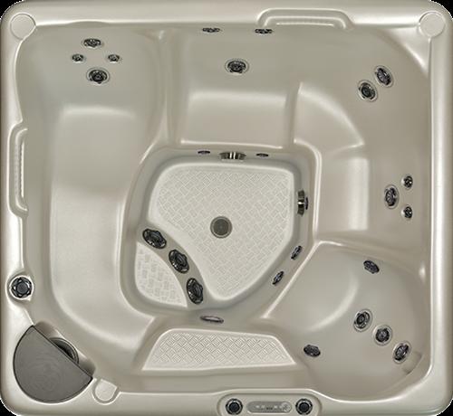Beachcomber 350 portable Eco-Loc Hot Tub, afm. 224 x 203 x 97 cm