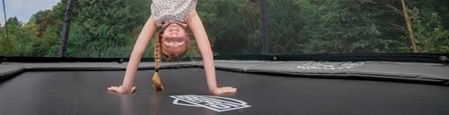 BERG trampoline EazyFit Grey, veiligheidsnet DeLuxe EazyFit, afm. 220 x 330 cm-2