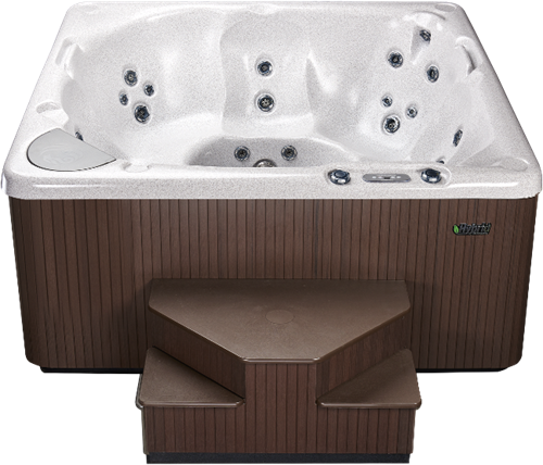 Beachcomber 360 portable Eco-Loc Hot Tub, afm. 224 x 203 x 97 cm-2