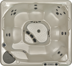 Beachcomber 360 portable Eco-Loc Hot Tub, afm. 224 x 203 x 97 cm
