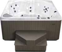 Beachcomber 380 portable Eco-Loc Hot Tub, afm. 226 x 226 x 97 cm-2