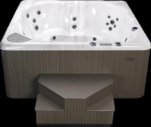 Beachcomber 380 portable Eco-Loc Hot Tub, afm. 226 x 226 x 97 cm