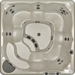 Beachcomber 380 portable Eco-Loc Hot Tub, afm. 226 x 226 x 97 cm