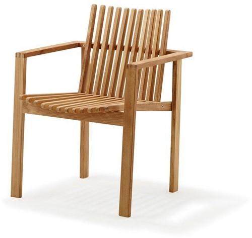 Cane-line Amaze stapelbare stoel - teak