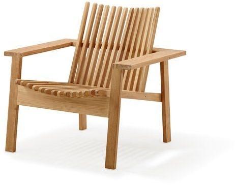 Cane-line Amaze stapelbare lounge stoel - teak