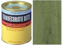 Hermadix Impregneer groen, transparante tuinbeits, blik 2,5 ltr