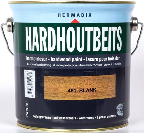 Hermadix hardhoutbeits, transparant, nr. 461 blank, blik 2,5 liter