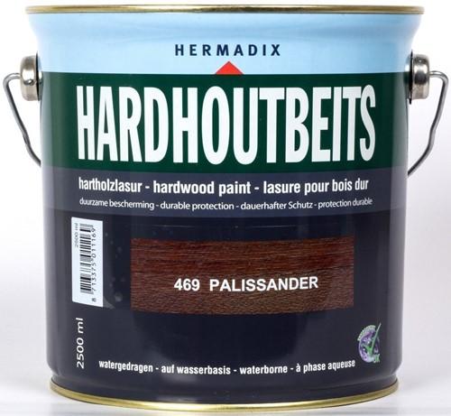 Hermadix hardhoutbeits, transparant, nr. 469 pallisander, blik 2,5 liter