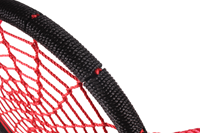 nestschommel diam. 95 cm, zwart/rood