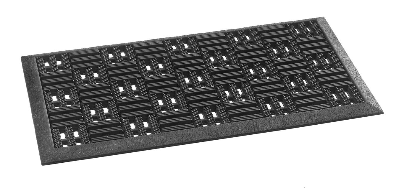 MD-Entree deurmatten Deurmat Marathon, afm. 45 x 75 cm, zwart
