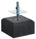 betontegel 18/16x10 cm + stelplaat, antraciet
