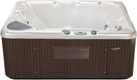 Beachcomber 520 portable Eco-Loc Hot Tub, afm. 145 x 191 x 76 cm-2