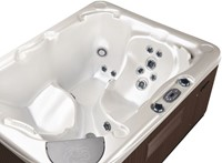 Beachcomber 520 portable Eco-Loc Hot Tub, afm. 145 x 191 x 76 cm-3