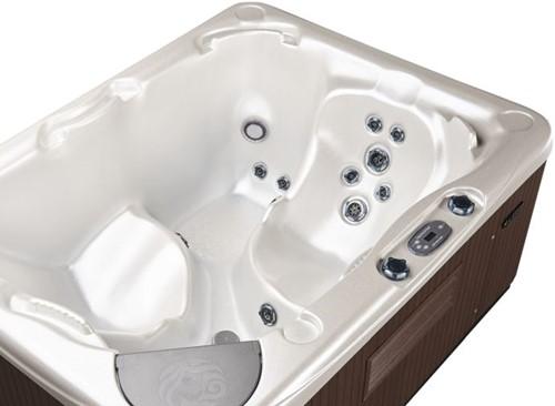 Beachcomber 520 portable Eco-Loc Hot Tub, afm. 145 x 191 x 76 cm-3
