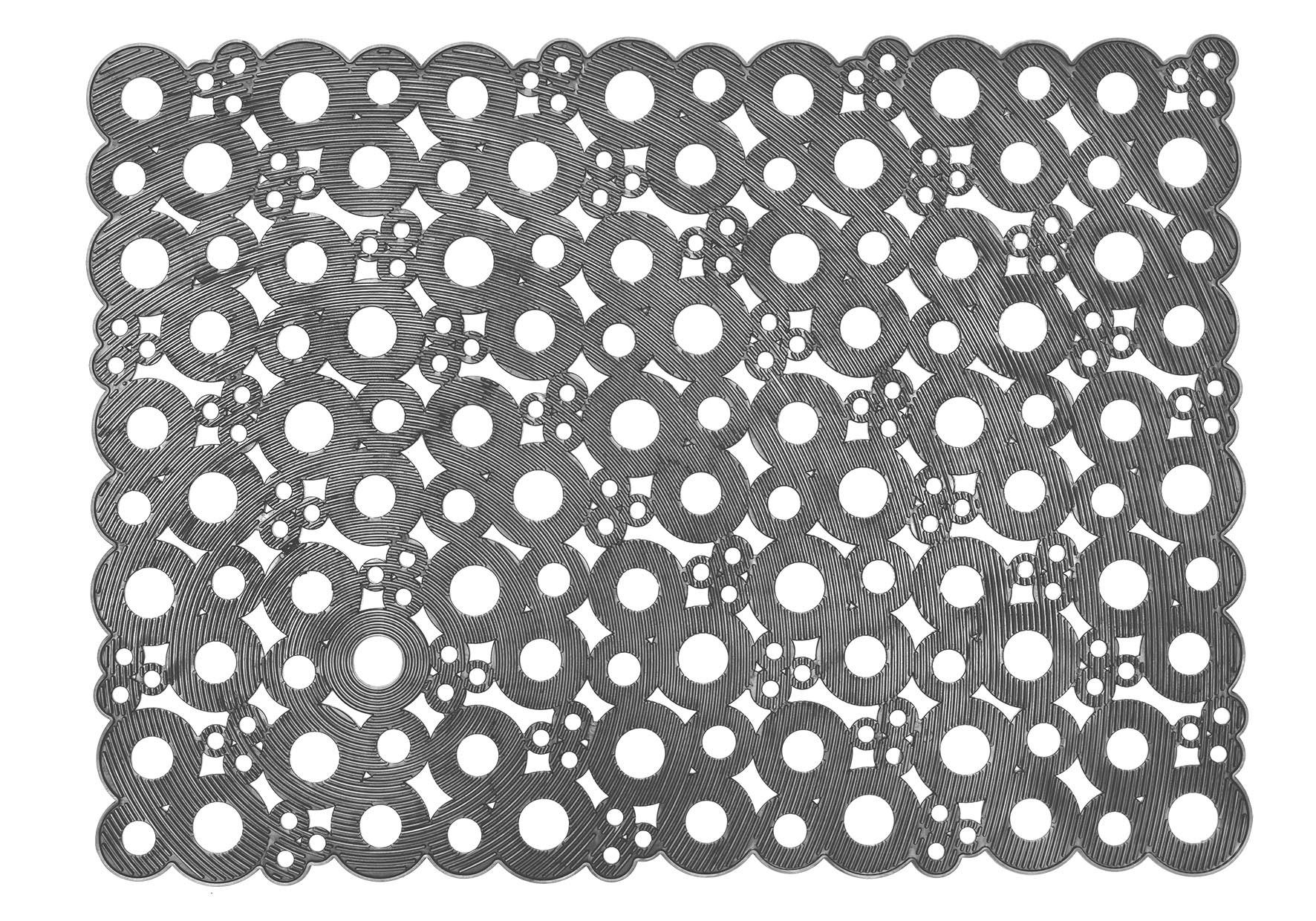 MD-Entree deurmatten Deurmat Bubbles, afm. 50 x 70 cm - grijs