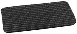 Deurmat Topscrape anthra-stripe, afm. 40 x 60 cm, antraciet/zwart gestreept