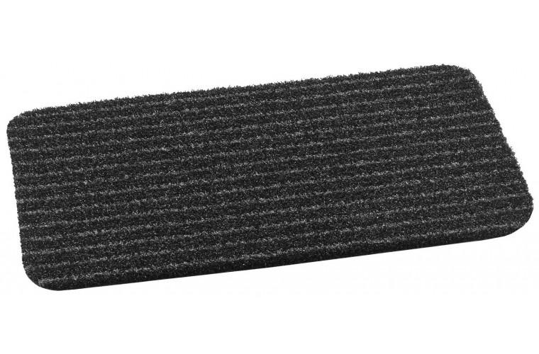 MD-Entree deurmatten Deurmat Topscrape anthra-stripe, afm. 40 x 60 cm, antraciet/zwart gestreept