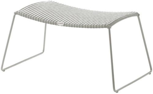 Cane-line Breeze voetenbank - white-grey